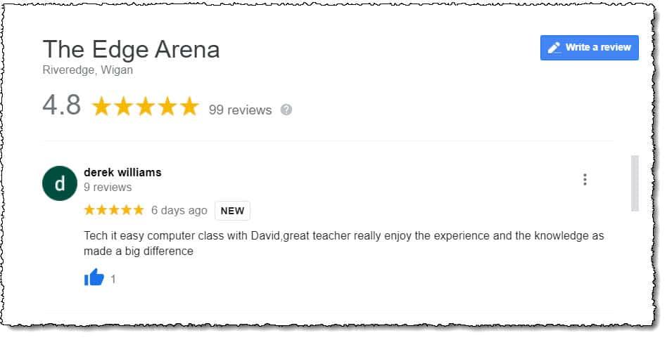 Tech it Easy Google Review